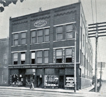 Barberton Public Library building in 1903